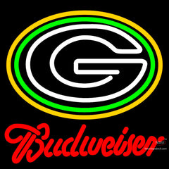 Budweiser Green Bay Packers NFL Neon Sign