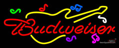 Budweiser Guitar Neon Sign