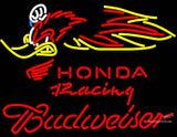 Budweiser Honda Racing Woody Woodpecker Crf , Neon Sign