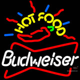 Budweiser Hot Food Neon Beer Sign