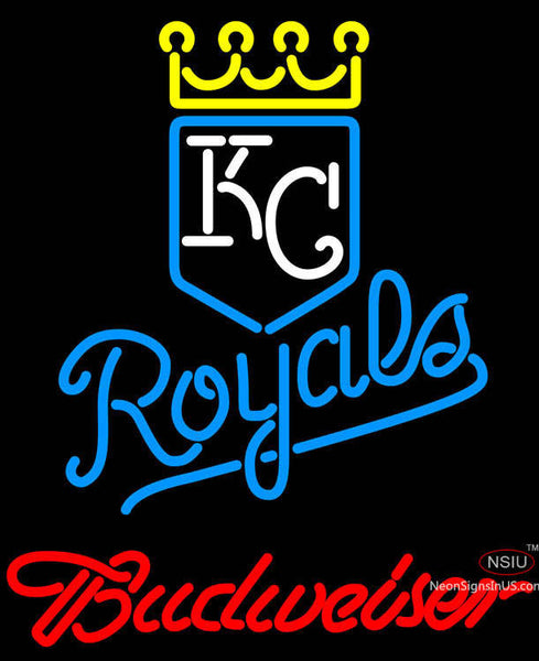 Budweiser Kansas City Royals MLB Neon Signs