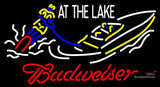 Budweiser Lake Neon Beer Sign