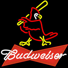 Budweiser Logo Cardinals Neon Sign Giant