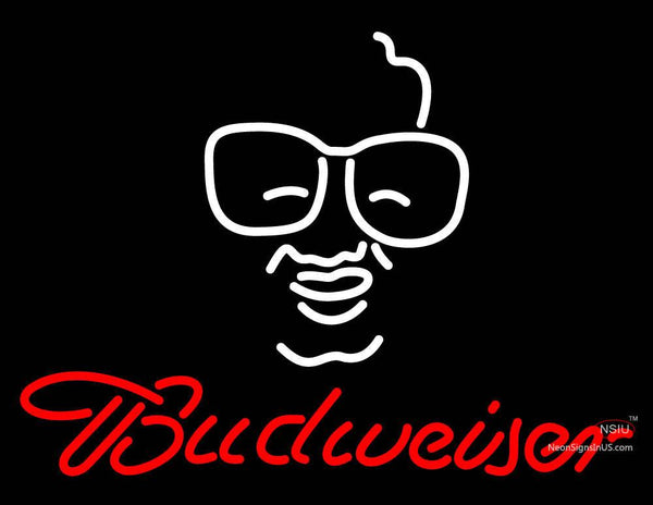 Budweiser Man Logo Neon Sign