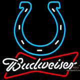 Budweiser Neon Indianapolis Colts NFL Neon Sign