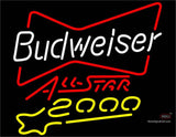 Budweiser All Star  Neon Beer Sign