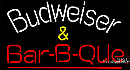 Budweiser Barbeque Neon Beer Sign