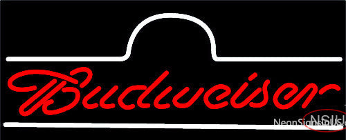 Budweiser Marquee Neon Beer Sign