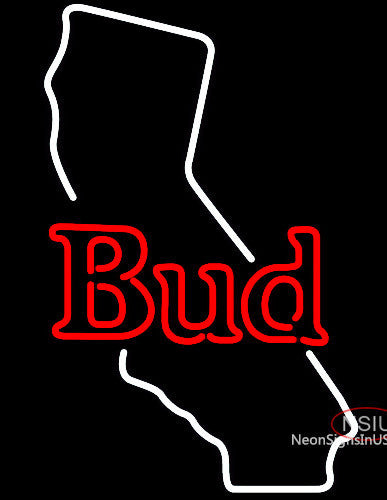 Bud California Neon Beer Sign