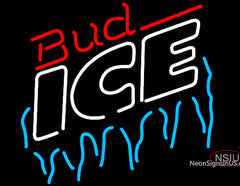 Bud Ice Icicles Neon Beer Sign