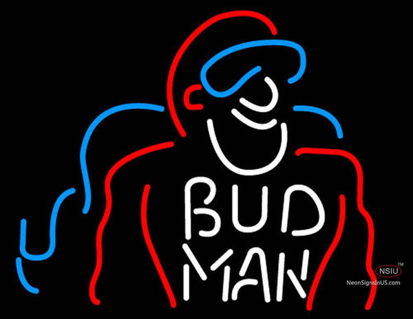 Bud Man Neon Beer Sign
