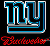 Budweiser New York Giants NFL Neon Sign