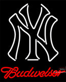 Budweiser New York Yankees MLB Neon Sign