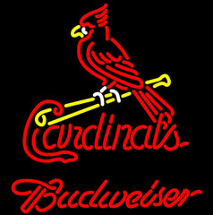 Budweiser St Louis Cardinals Mlb Neon Sign Giant
