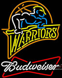 Budweiser Golden St Warriors NBA Neon Sign