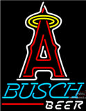 Busch Beer Los Angeles Angels Of Anaheim MLB Neon Sign