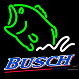 Busch Beer Bass Fish Neon Sign x