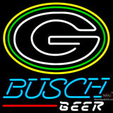 Busch Beer Green Bay Packers NFL Neon Sign