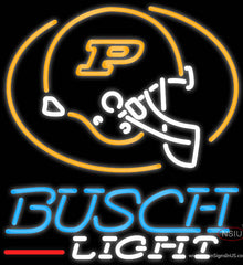 Busch Light Purdue University Calumet Real Neon Glass Tube Neon Sign