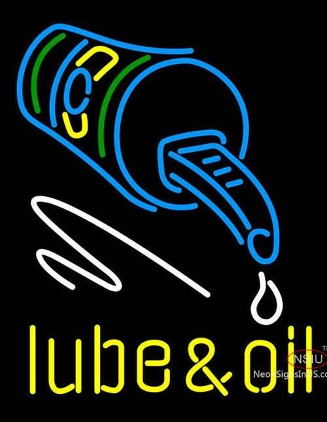 Lube and Oil Neon Signs