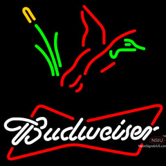 Budweiser Collectible Duck Hunting Neon Sign x