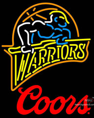Coors Logo Golden St Warriors NBA Neon Sign