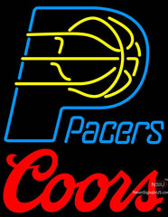 Coors Logo Indiana Pacers NBA Neon Sign