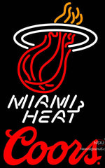 Coors Logo Miami Heat NBA Neon Sign
