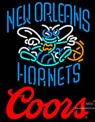 Coors Logo New Orleans Hornets NBA Neon Sign