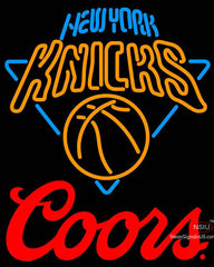 Coors Logo New York Knicks NBA Neon Sign