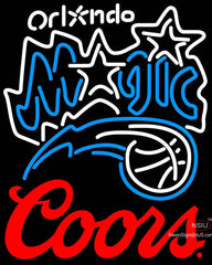 Coors Logo Orlando Magic NBA Neon Sign