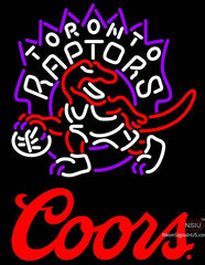 Coors Logo Toronto Raptors NBA Neon Sign