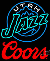 Coors Logo Utah Jazz NBA Neon Sign