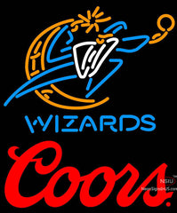 Coors Logo Washington Wizards NBA Neon Sign