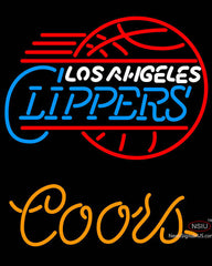 Coors Los Angeles Clippers NBA Neon Sign