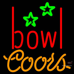 Coors Neon Bowling Alley Neon Sign   x