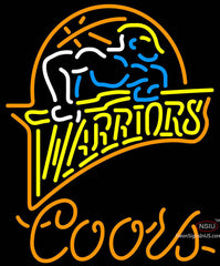 Coors Neon Golden St Warriors NBA Neon Sign