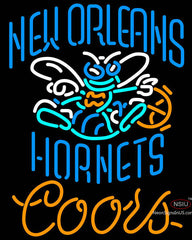 Coors New Orleans Hornets NBA Neon Sign