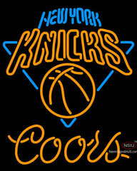 Coors New York Knicks NBA Neon Sign