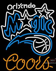Coors Orlando Magic NBA Neon Sign