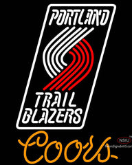 Coors Portland Trail Blazers NBA Neon Sign