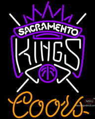 Coors Sacramento Kings NBA Neon Sign