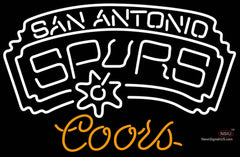 Coors San Antonio Spurs NBA Neon Sign