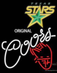 Coors Star Real Neon Glass Tube Neon Sign