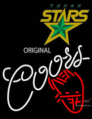 Coors Star Neon Sign