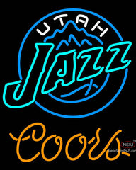 Coors Utah Jazz NBA Neon Sign
