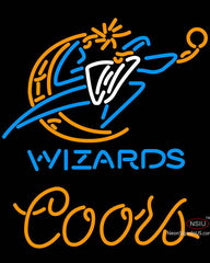 Coors Washington Wizards NBA Neon Sign