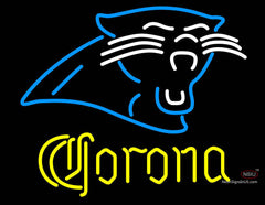 Corona Carolina Panthers NFL Neon Sign