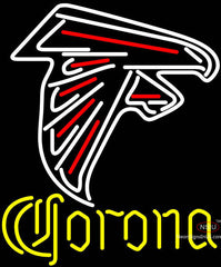 Corona Atlanta Falcons NFL Neon Sign