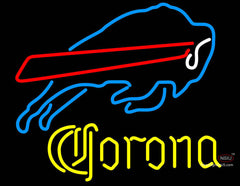 Corona Buffalo Bills NFL Neon Sign